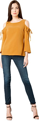 41f3d113e3d5c9 Vrati Fashion Women Tunic Short Top For Jeans Plain Diamond Creap Top For Daily  wear Stylish