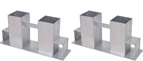 *2er Set Brennholz-Stapelhilfe Kaminholz Feuerholz Stapel Hilfe*
