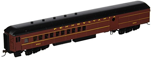 Bachmann Industries PRR Postwar Round Door #9921 72' Heavyweight Combine with Lighted Interior