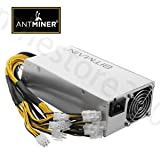 SLB Works Brand New Official Antminer APW3++ PSU 1600W Power Supply for Antminer D3 S9 S7 L3 InStock