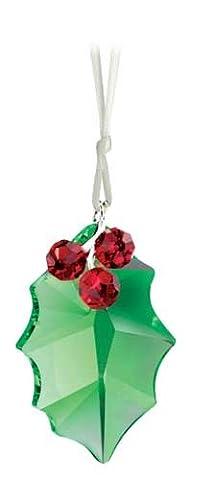 Cristal de Swarovski Holly Ornement