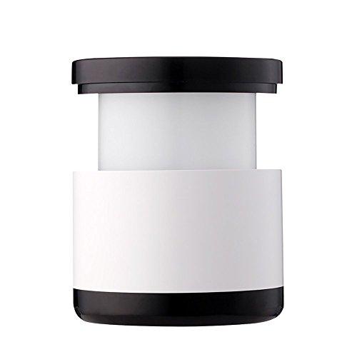 LongYu Lumière de Nuit télescopique USB Charge softlight Pull-Ligne LED Apprentissage Moderne Lecture Blanc Intelligent Lampe portative Chambre d'économie d'énergie Lampe de Chevet (Color : Black)