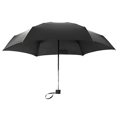 Royalr Folding Umbrella Regen Frauen Männer Taschen-Sonnenschirm Mädchen bewegliche Spielraum Anti-UV-Wasserdichtes Regenschirm