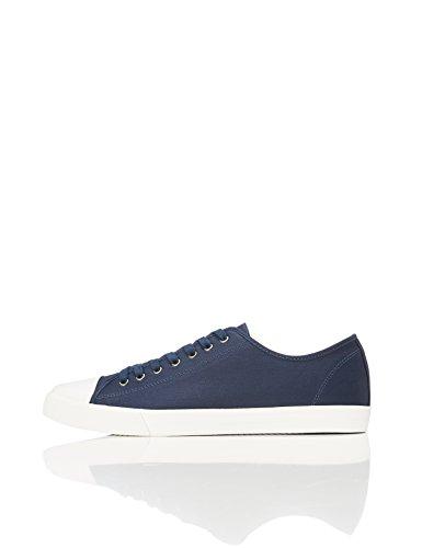 Find Zapatillas Clásicas con Cordones para Hombre, Azul (Navy), 42 EU