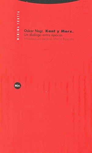 Kant y Marx: Un diálogo entre épocas (Minima Trotta)