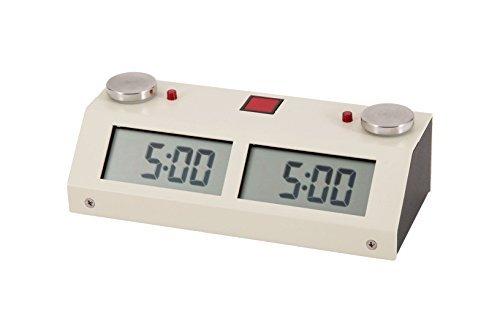 Chronos GX Digital Game Chess Clock - TOUCH - White by The House of Staunton, Inc. (Chronos Clock)