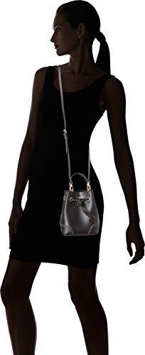FURLA - Stacy Mini Drawstring, Borse a secchiello Donna Nero (Onyx)