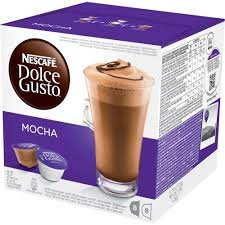 Buy Nescafé Dolce Gusto Mocha, Pack of 4, 4 x 16 Capsules (32 Servings) by Nestlé