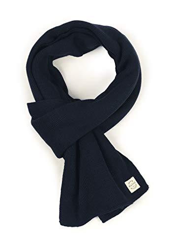Blend Scar Herren Schal Winterschal Unisex, Größe:ONE SIZE, Farbe:Dark Navy Blue (74645)
