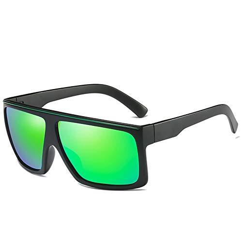 Pouch & Cross Set Unisex-Sonnenbrille mit polarisierten Gläsern von Wellington Brille (Color : Grün, Size : Kostenlos)