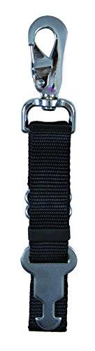 Trixie 1235955 Guinzaglio per Cane Manigliotto di Ricambio, 45cm-70cm x 25mm, Nero