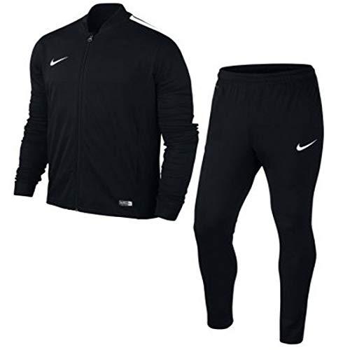 Nike -  tuta da ginnastica - manica lunga - uomo black, white l