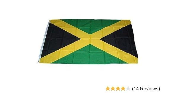 Jamaika  Fahne Flagge Hißflagge Hißfahne 150 x 90 cm