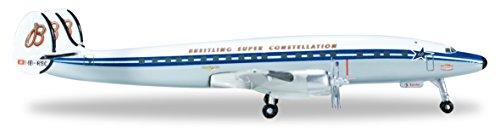 Herpa 523035-001 - SCFA / Breitling Lockheed L-1049H Super Constellation 60th Anniversary  Preisvergleich
