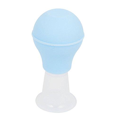 sourcingmap® Hand Quetschen Blau Kunststoff Saugnapf Nippel-vergrößerer Milchpumpe