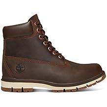 72348c48b4a TIMBERLAND A1UOA Zapatos Marrones Hombre Botas Cordones a Prueba de Agua