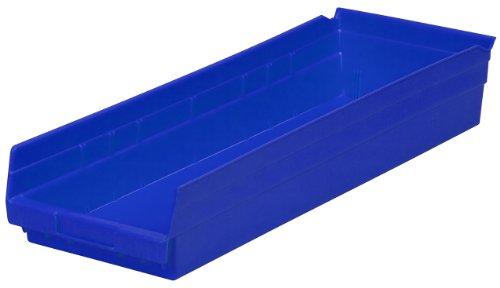 Akro-Mils 30184BLUE - De 24 pulgadas por 8 pulgadas por caja bin...