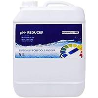 NortemBio Pool pH- Minus 5 L, Reductor pH Natural para Piscina y SPA. Mejora la Calidad del Agua, Regulador pH, Beneficioso para la Salud. Producto CE.