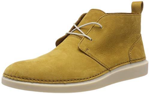 Clarks Herren Hale Lo Chukka Boots, Braun (Ochre Nubuck), 42 EU -