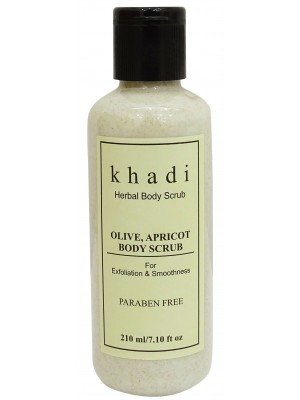 Herbal Body Scrub (Olive, Aprikose) - (210 ml) - von Khadi Organic Natural -