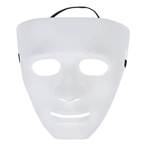 LEXPON Leere maennliche Maske Halloween Kostuem Drama ()