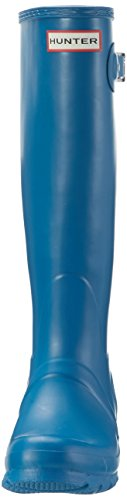 Hunter High Wellington Boots, Bottes et Bottines de Pluie Femme Blau (Ocean Blue)
