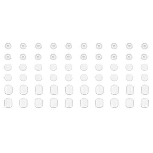 Silikon Kissen für Ohrclips Komfort Weich Ohrclips Zubehör ()
