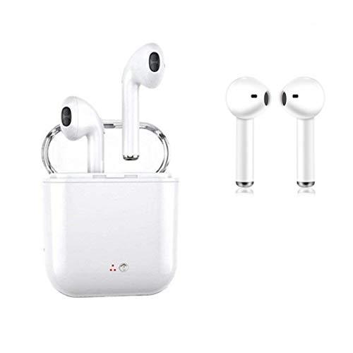 Auriculares Bluetooth, con un par de Auriculares estéreo inalámbricos Que cancelan el Ruido de Bluetooth, compatibles con la mayoría de los teléfonos Inteligentes Android iOS