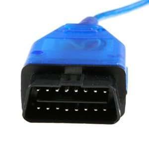 409,1 KKL VAG-COM DB9 OBD2 OBD II diagnostic câble Nouveau