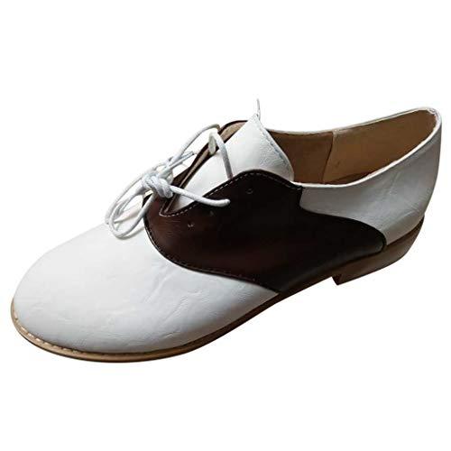 MuSheng Women's Comfortable Sneaker Slipper Lace-Up Low Schuhe Casual Flats Chunkyrayan Flache lässige Schnürschuhe für Damen in Übergrößen von Rome Students Running Shoes