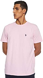 U.S. POLO ASSN. Men's Round Neck Short sleeve T-S
