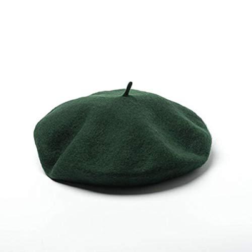 AROVON Hüte Unisex Wolle Baskenmütze Militär Französisch Hüte Herren und Damen Flat Caps Maler Hut große weibliche und (Flamingo Kostüm Männlich)