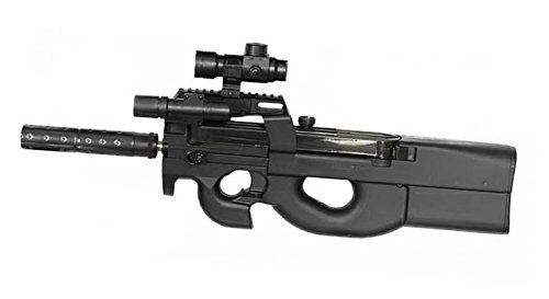 REPLIQUE FUSIL D90 AEG FULL AUTO PACK DEBUTANT COMPLET + CIBLE 0.35 JOULE WELL AC80038 AIRSOFT