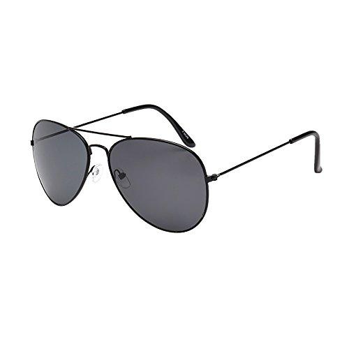 NINGSANJIN Sonnenbrille Frauen Herren Vintage Retro Brille Unisex Mode Übergroßen Rahmen Sonnenbrille Eyewear D