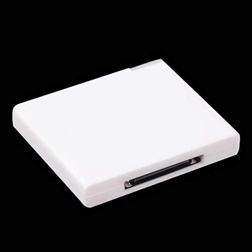 Black & White v2.0 A2DP Music Receiver Adapter Für iPod Für iPhone 30 Pin Dock Docking Station Lautsprecher mit 1 LED - Weiß