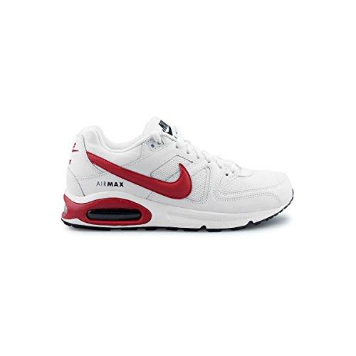 Nike Men's Air Max Command Shoe, Chaussures de Fitness Homme Blanc