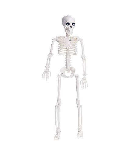 YYRZGW Halloween-Skelett-Ganzkörper, Halloween-Dekoration, bewegliche Halloween-Skelette, Friedhofsdekorationen Spukhäuser, gruseliges Dekor-90cm (Jungen Gespenst Piraten Kostüm)