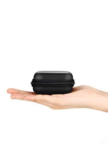NMoqL Borsa per Accessori Portatile da Viaggio con Cavo Portatile Eva Borsa per Accessori elettronici Borsa per Giochi Macchina per Cuffie 8 * 8 * 4Cm