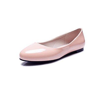 Confortevole ed elegante piatto scarpe donna Appartamenti Primavera Estate Autunno altri cuoi Office & Carriera Party & serata informale tacco piatto altri nero rosa rosso bianco Pink