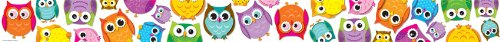 Colorful Owls Borders (Grenze Eulen)