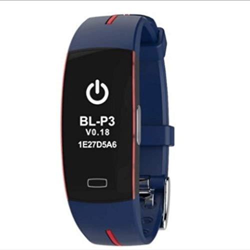 YYH Pulsera Inteligente PPG + ECG electrodo de luz ECG presión Arterial monitorización del Ritmo cardíaco, Contador de calorías Impermeable, Cinco Colores Opcionales Reloj Inteligente