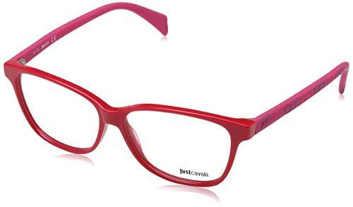 Just Cavalli Damen Brille Jc0686 066 54 Brillengestelle, Rot,