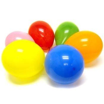 100 kleinen Pastellgrün Luftballons, ideal für Dekorationen,St. Patrik, Kompositionen, Geburtstage und Partys. ()