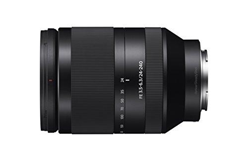 Sony SEL24240 Teleobiettivo con zoom FE 24-240 mm F3.5-6.3 OSS, Nero