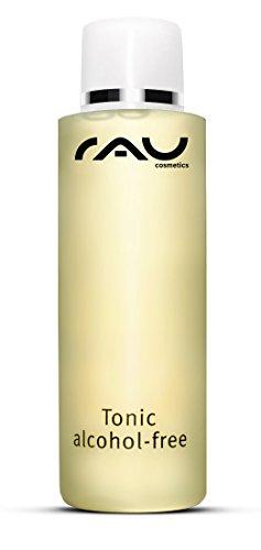 RAU Tonic alcohol-free, Gesichtswasser ohne Alkohol für empfindliche und trockene Haut mit Brennnessel-Extrakt (1 x 200 ml)