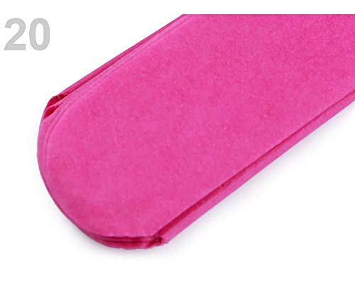 1stück 20 Pink Blumen Ball Pompom Ø35 Cm, Party Dekorationen, Und Karneval Accessoires -