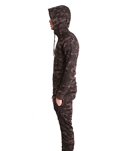 Tuta Allenamento Jogging Tech Cabaneli Camo camouflage