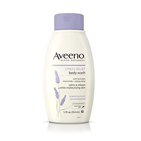 Aveeno Stress Relief Body Wash 12 fl oz