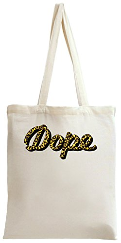 Dope Leopard Print Tote Bag (Leopard Tote Print)