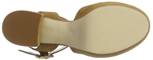PEPEROSA 6504, Sandales Compensées femme Braun (Cola)